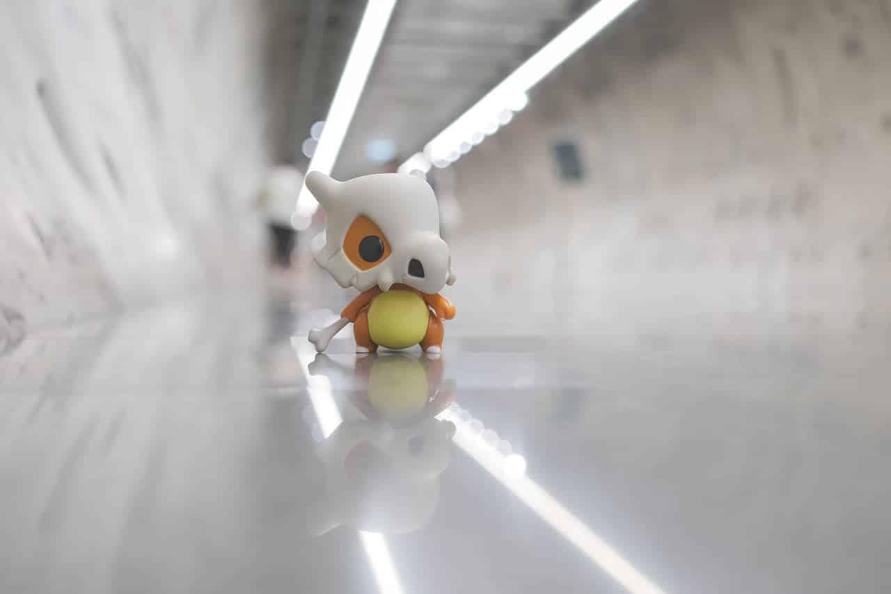 Picture showing a Cubone as part of the Pokémon quiz