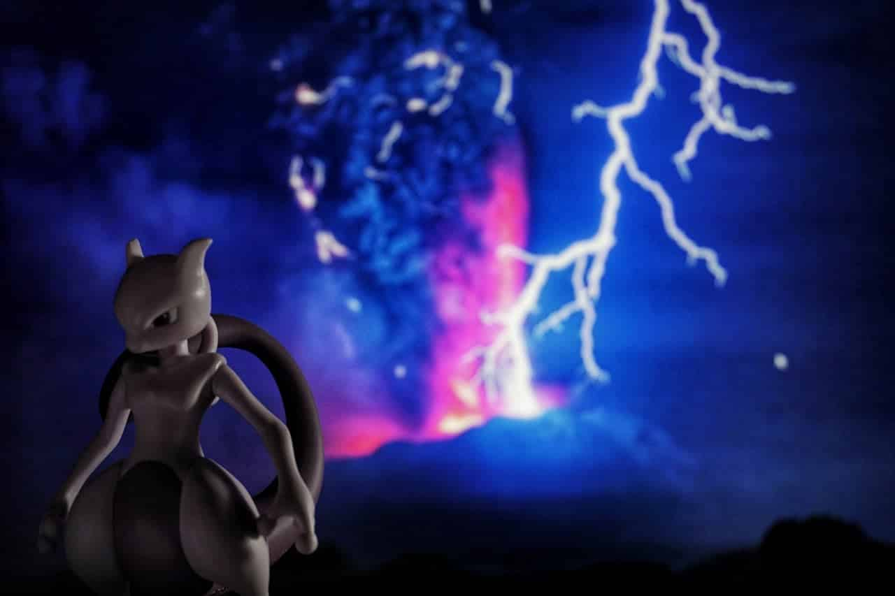 picture showing Mewtwo