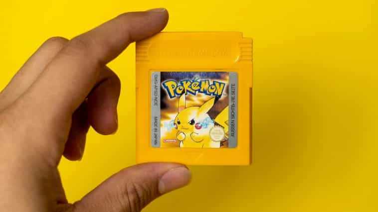 Picture showing a Pokémon game as part of the Pokémon quiz