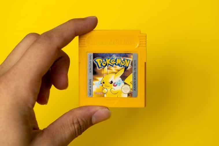 Picture showing a Pokémon game as part of the Pokémon quiz