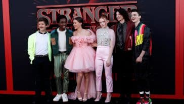 Picture showing the cast of Stranger Things (Stranger Things Quiz)
