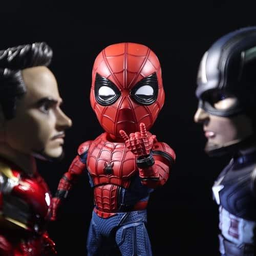 Iron Man, Spider Man