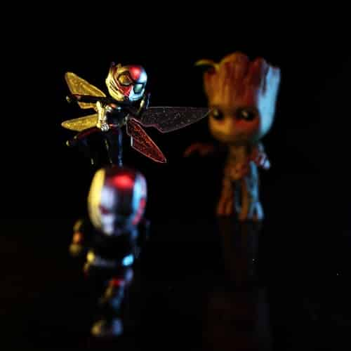 Wasp and Groot