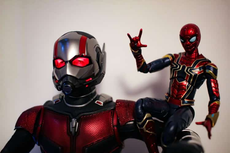 antman and spiderman